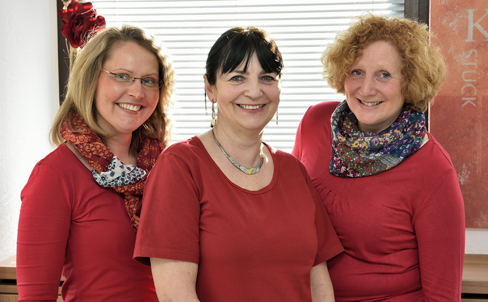 Frau Schmidt, Frau Witte, Frau Scharrenberg